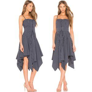 NWT JOIE Ronit Fit + Flare Handkerchief Dress